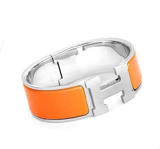 hermes bracelet orange