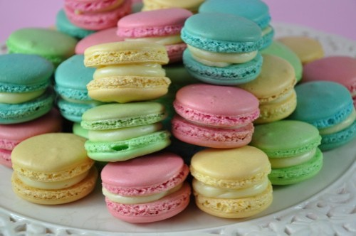 inspiration taken from these pastel macaroons perhaps