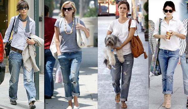 Fashion Ideas For Boyfriend Jeans